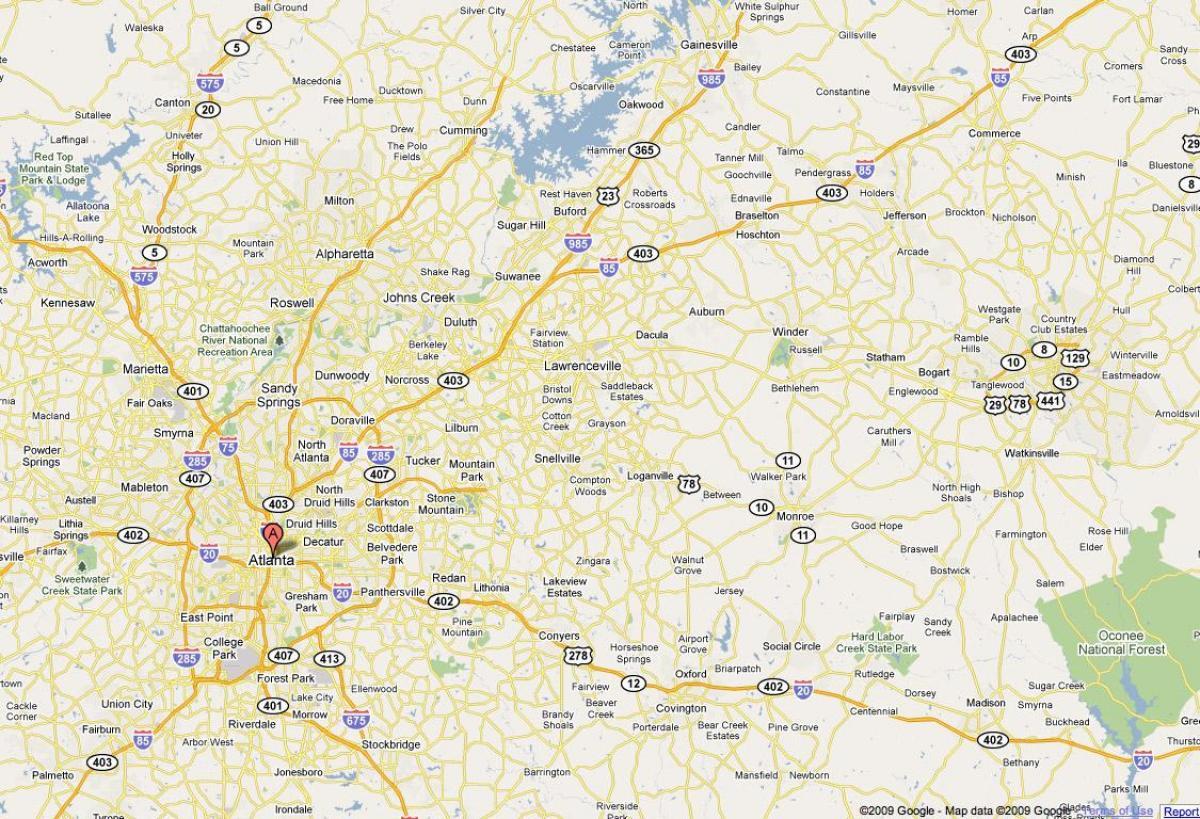 Atlanta ga map - Map of Atlanta ga (United States of America) on map of atlanta neighborhoods, map chicago il, map amarillo tx, map washington dc, map birmingham al, map orlando fl, map montgomery al, map louisville ky, map miami fl, map seattle wa, map atlantic city nj, map charlotte nc, map annapolis md, map fayetteville nc, map new orleans la, map dallas tx, map atlanta tn, map pittsburgh pa, map boston ma, map nashville tn,